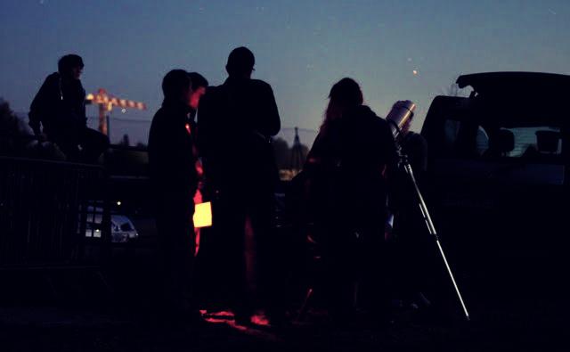 Attente au crépuscule (fête des étoiles 2015)