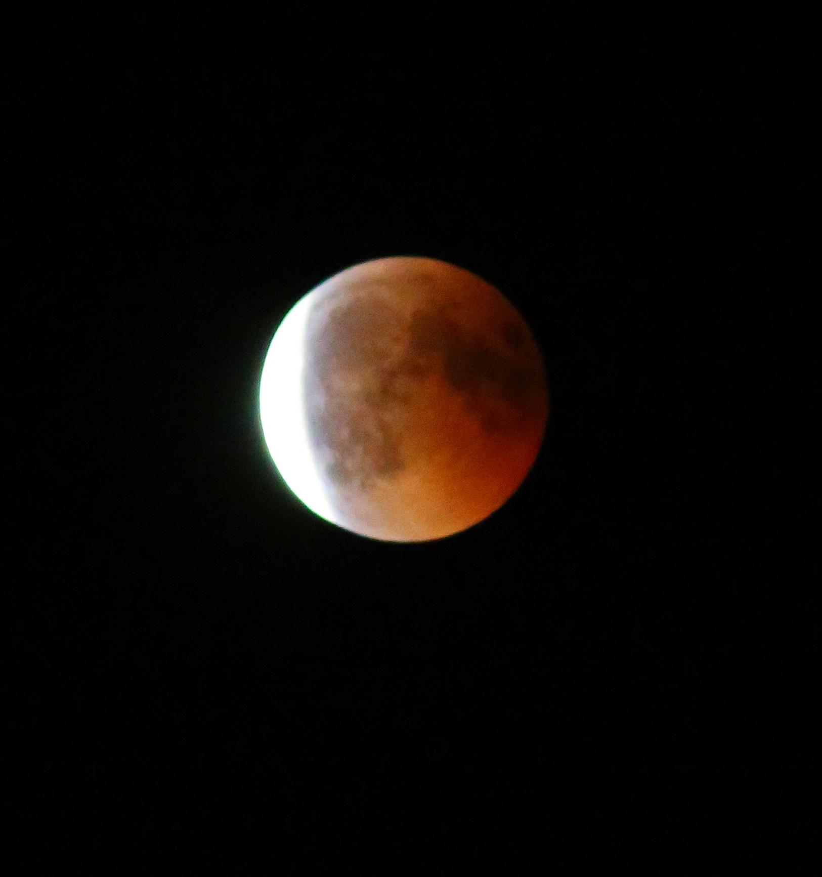 Eclipse de lune du 27 juillet 2018 par l'ADAES